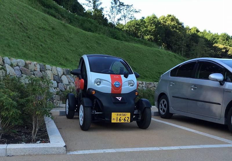 日産の二人乗り電気自動車(超小型モビリティ)