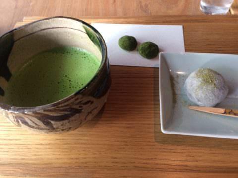 つぼ市製茶本舗 抹茶&大福